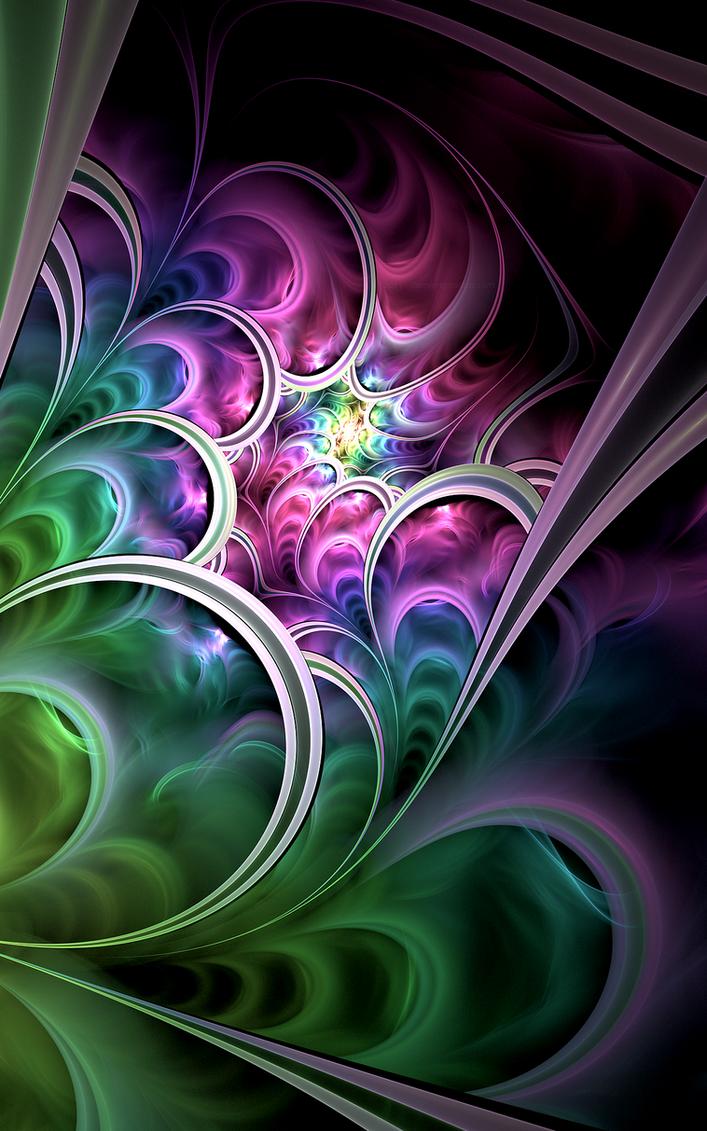 Flowing II by SaTaNiA