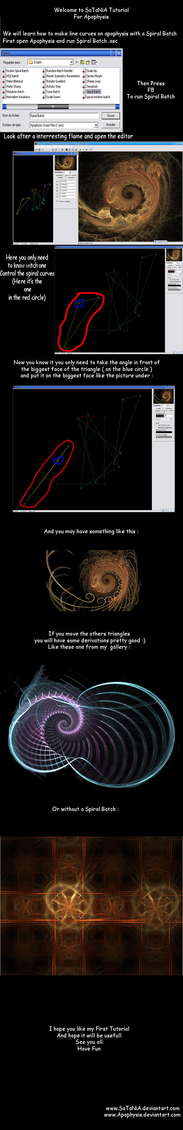 Tutorial - Apophysis Lines by SaTaNiA