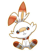 Scorbunny - The Rabbit Pokemon by Kboomz