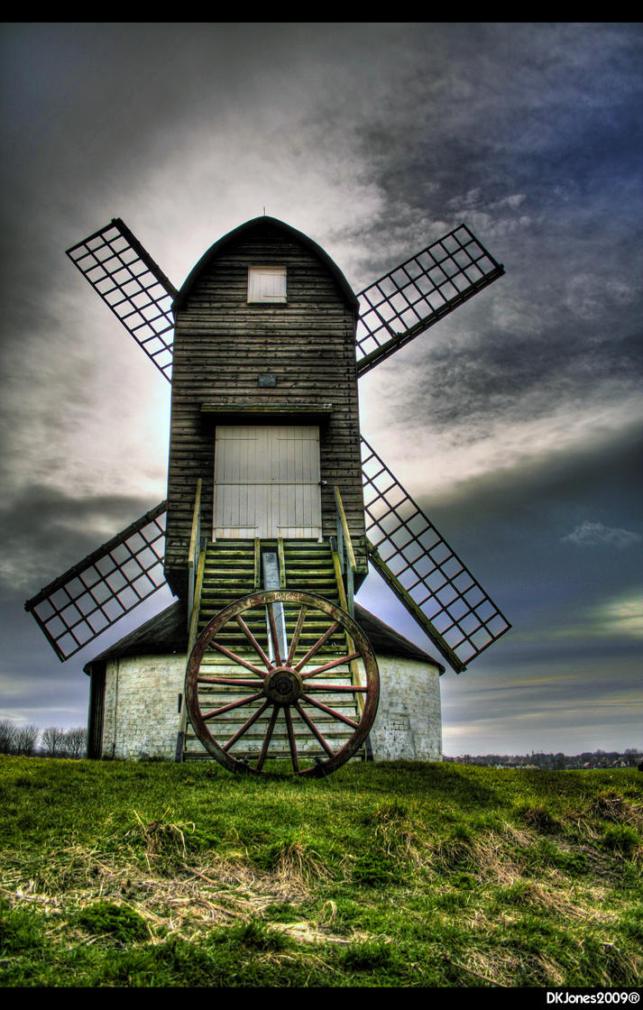 Pitstone Windmill by dkj1974