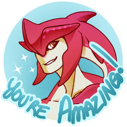 BOTW - Motivational Sidon by ectochoir