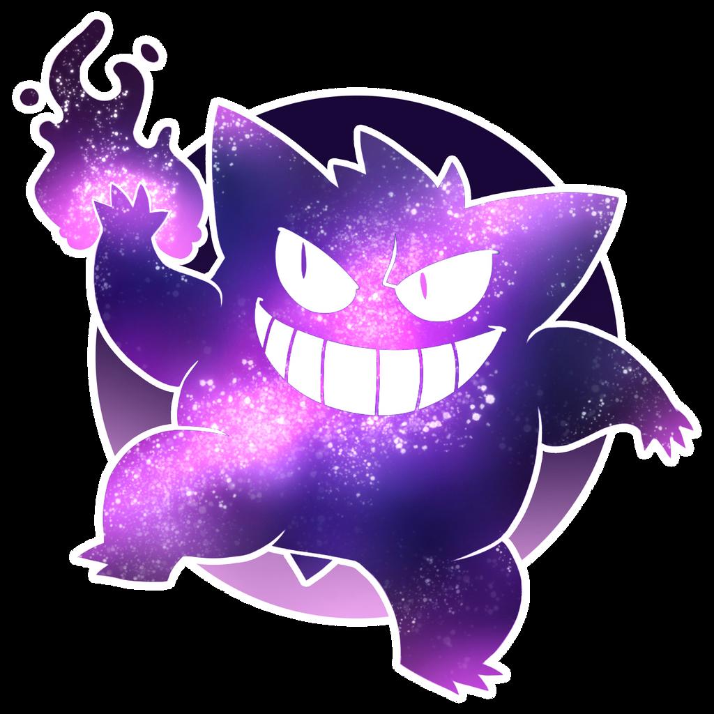 Super Gengar Galaxy by ectochoir