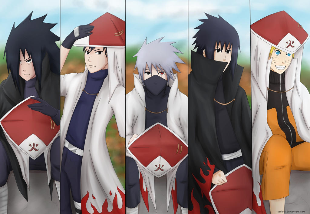 Hokages by Komiya-chan on DeviantArt