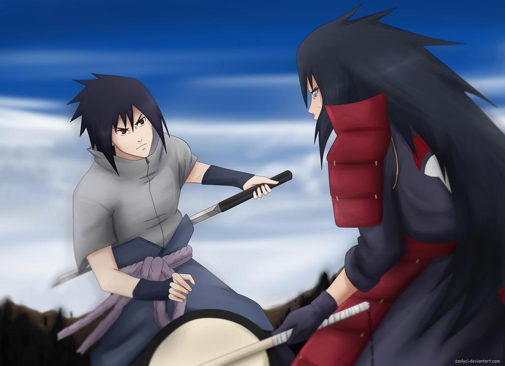 uchiha madara vs sasuke - photo #7