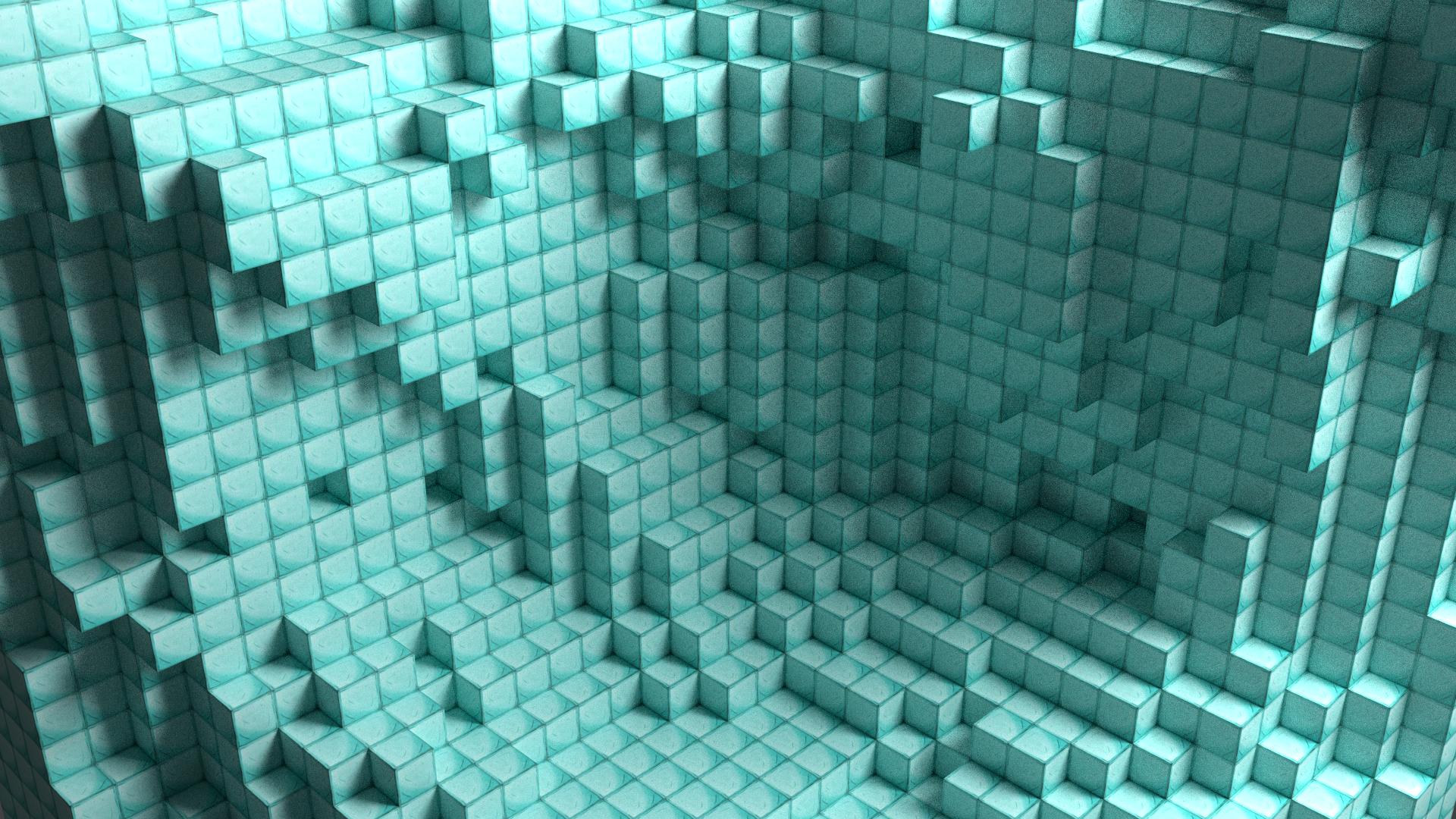 Minecraft Diamond Block Wallpaper Download