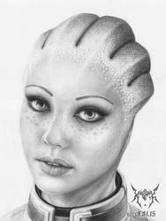 Liara T'Soni by KoshaKN7