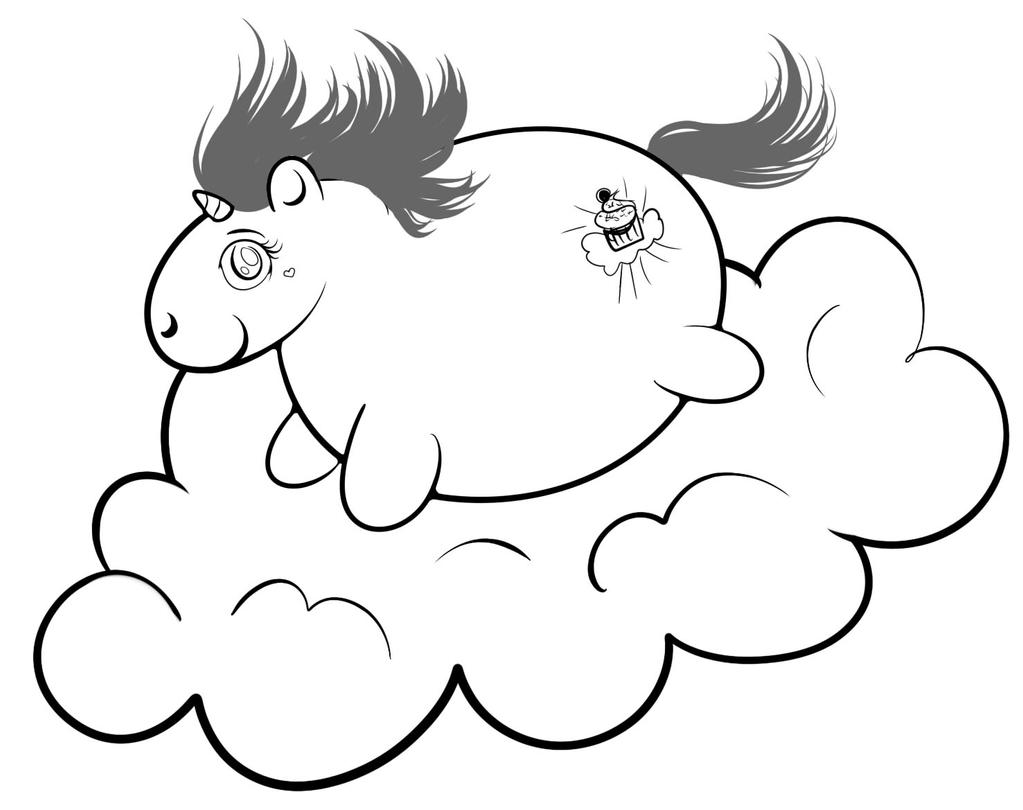 best 25 cute coloring pages ideas on pinterest free fat unicorn