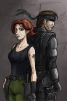 Meryl n Snake by botmaster2005