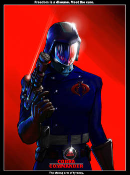 Cobra Commander Movie Poster