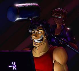 Ryo Saeba Vs The Internet by botmaster2005
