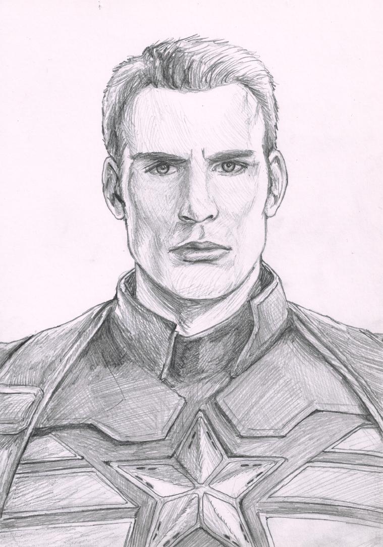 Chris Evans As Steve Rogers Sketch By Botmaster2005 On DeviantArt