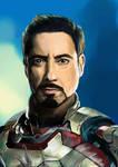 Robert Downey Jr as Tony Stark AKA Iron Man