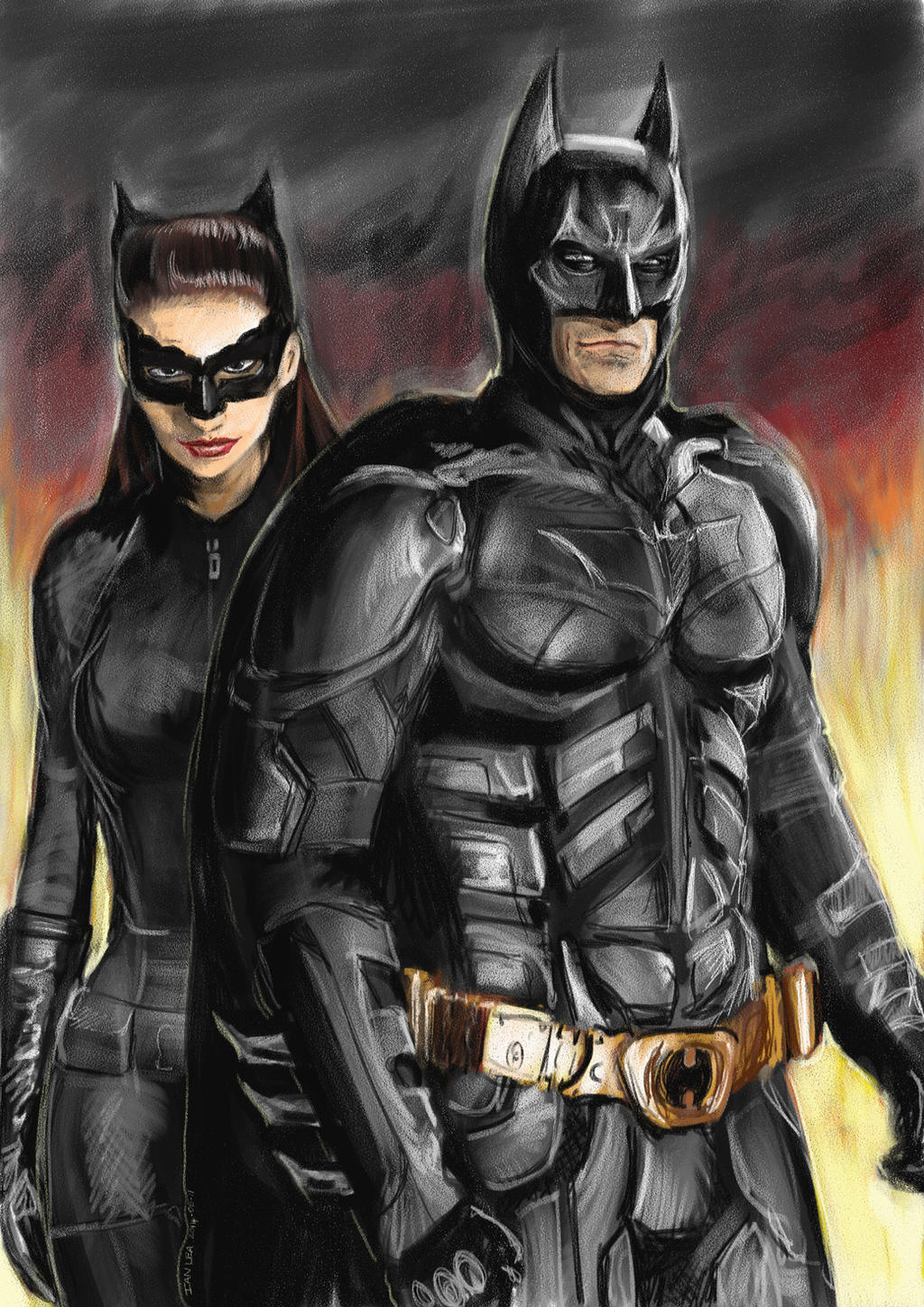 Dark Knight Rises Catwoman and Batman by botmaster2005 on ...
