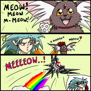 Meow grab my Meow Meme