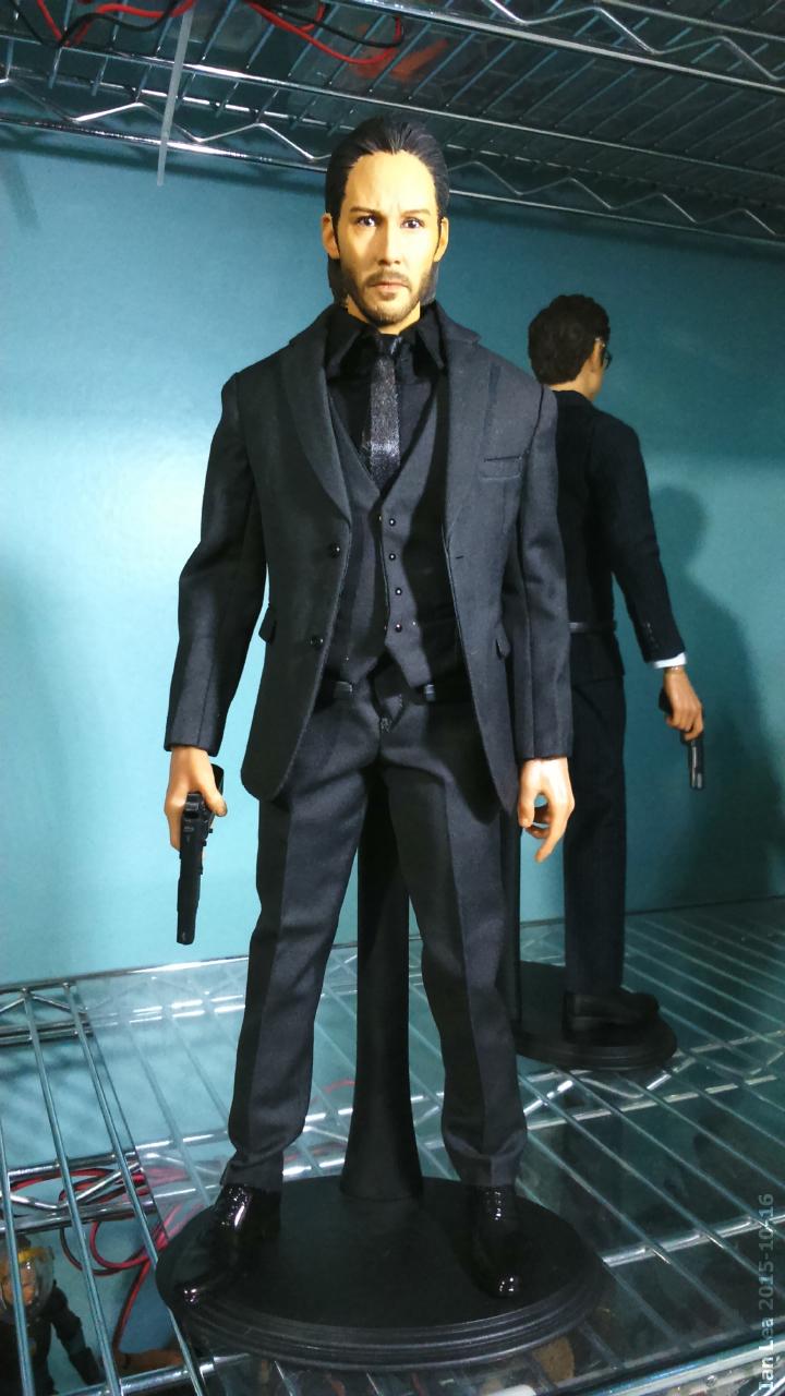 1/6 scale John Wick custom figure by botmaster2005 on DeviantArt