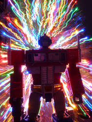 Optimus Prime hyperspace by botmaster2005