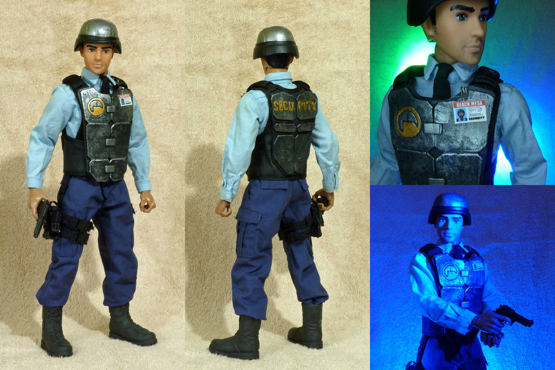 Half Life 1 6 Scale Barney Calhoun Figure By Botmaster2005 On Deviantart