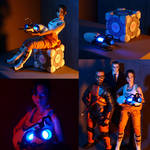 1/6 Custom Portal 2 Chell figure by botmaster2005