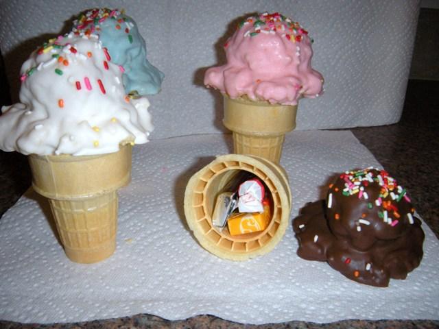 Rice Krispie Ice Cream Cones by Stephanefalies on DeviantArt