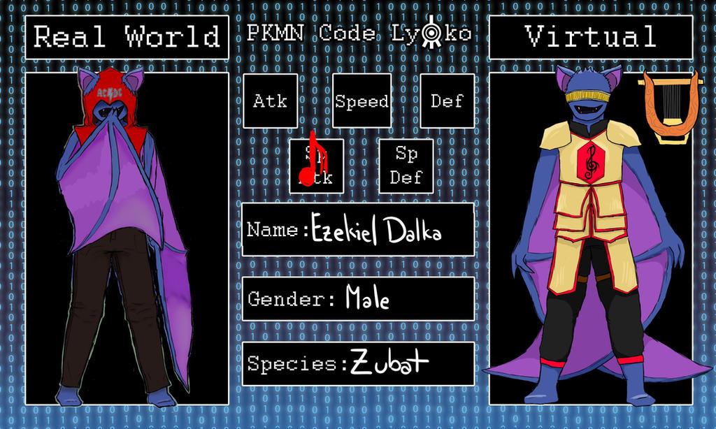 Pkmn Code Lyoko: Ezekiel by spock-lover