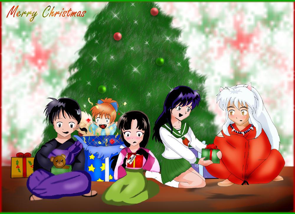 an Inuyasha christmas.... by naeomi-chan on DeviantArt
