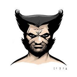 Wolverine by misterbitter