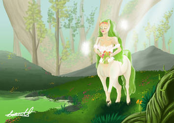 Queen of the Forest by xArcox