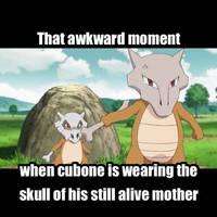 Awkward Cubone by ILoveSwirlix