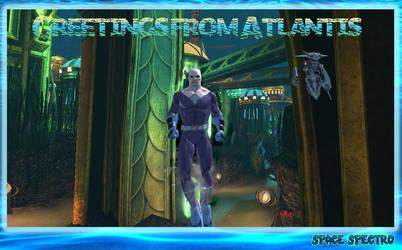 Space Spectro in Atlantis by darthpaul99