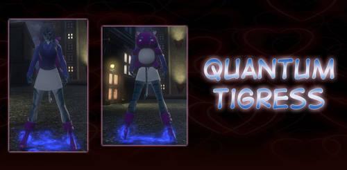 Quantum Tigress Valentine Style 2019 DCUO by darthpaul99