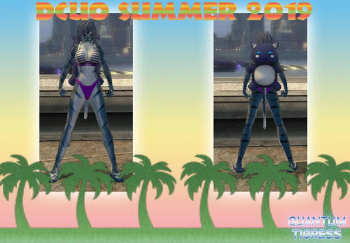 DCUO Quantum Tigress Summer 2019