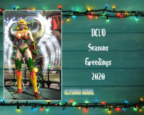 Elysium Angel DCUO Winter Seasonal 2020