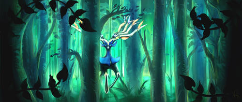 Xerneas by Pangol