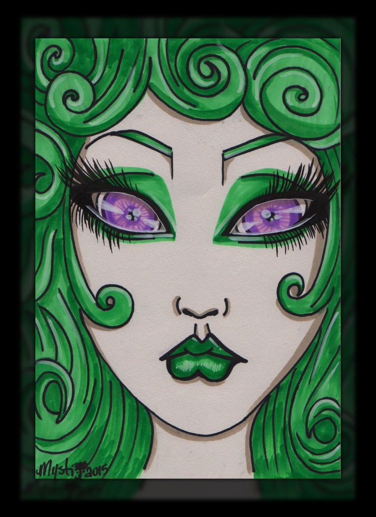 Medusa's little sister -snakes not included- by xoxoVendetta
