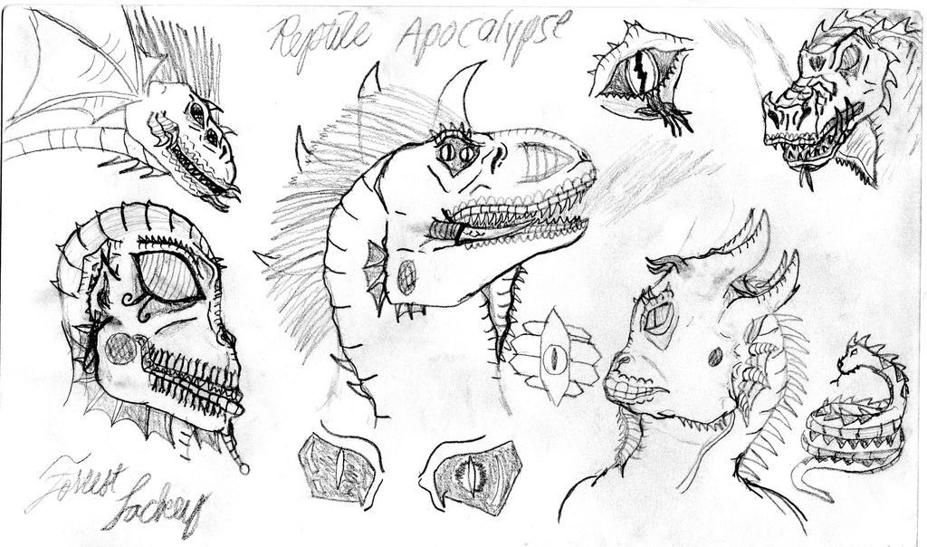 Reptile Apocalypse by ACEnBEAKY