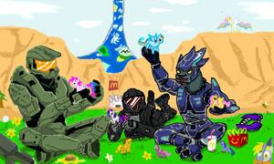 Halo: Friendship Evolved