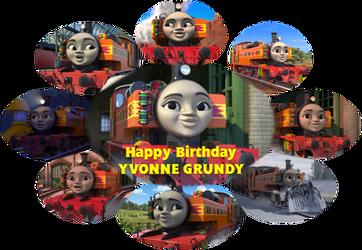 Happy Birthday to Yvonne Grundy by DaveMan1000