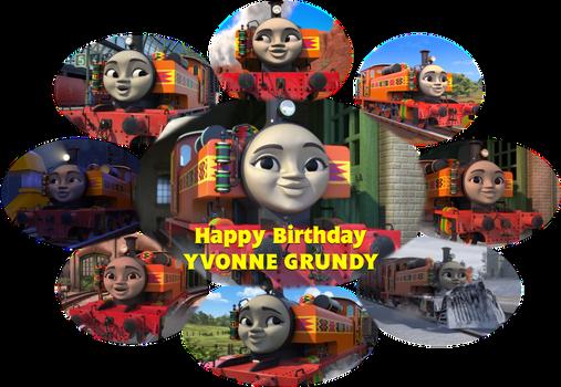 Happy Birthday to Yvonne Grundy
