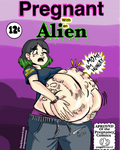 cover of an alien pregnant comic