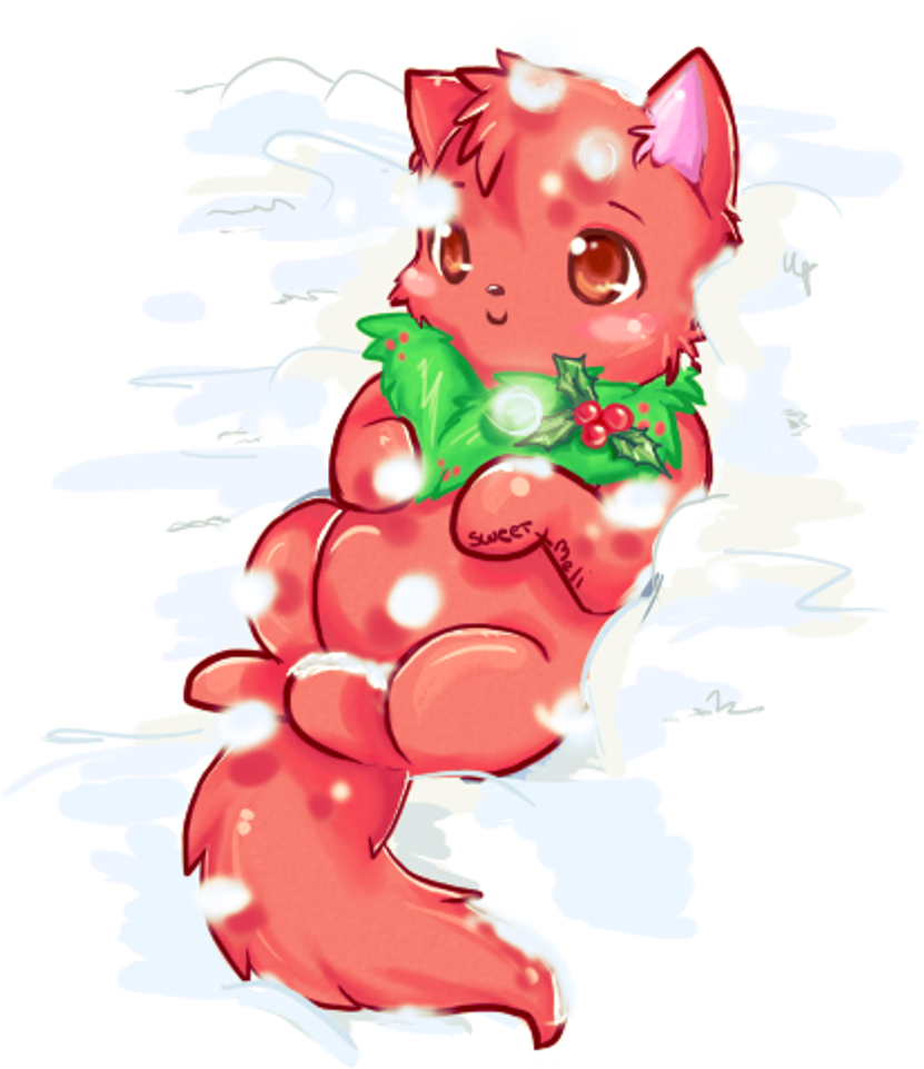 Christmas Wocky! by CuteMeowclops
