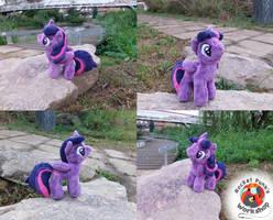 Regular Twilight Sparkle plushie by Rocket-Punk