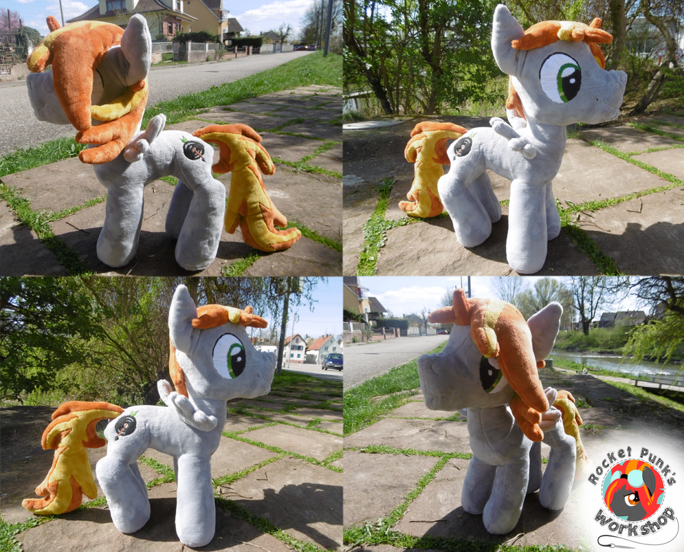XL OC Scarr plushie (Mk 4) by Rocket-Punk