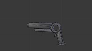 Sci-Fi gun by Rocket-Punk