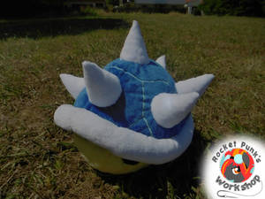 Blue Shell plushie
