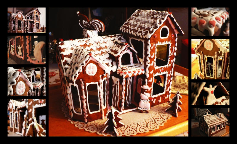 Gingerbread House 2006 by mistymoonlight