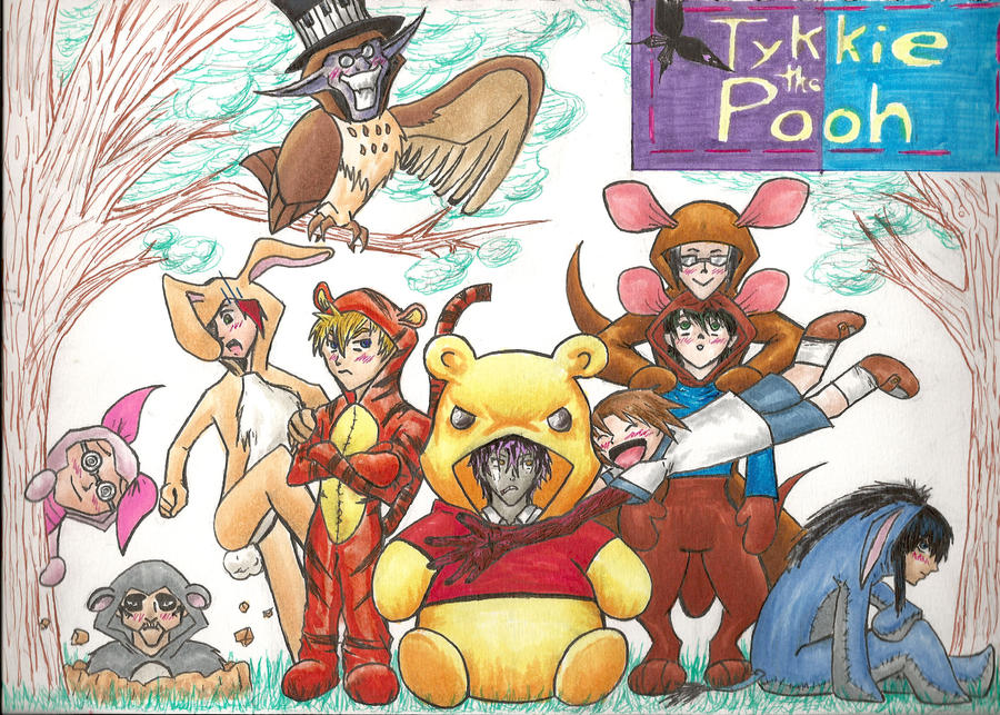 Tykkie the Pooh by Inky-Exorcist