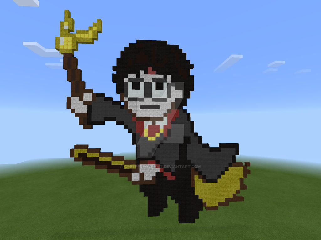 Fantastic Wallpaper Minecraft Harry Potter - minecraft_harry_potter_by_creeperlover197-d8d52yt  Collection_939412.jpg