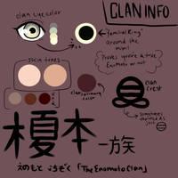 NARUTO Fan Clan Information: The Enomoto Clan by sukotai
