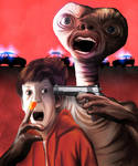 E.T. the Extra-Terrestrial (in my thoughts)