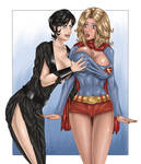 Ursa Versus Supergirl Part 5 by PatrickS-Artist